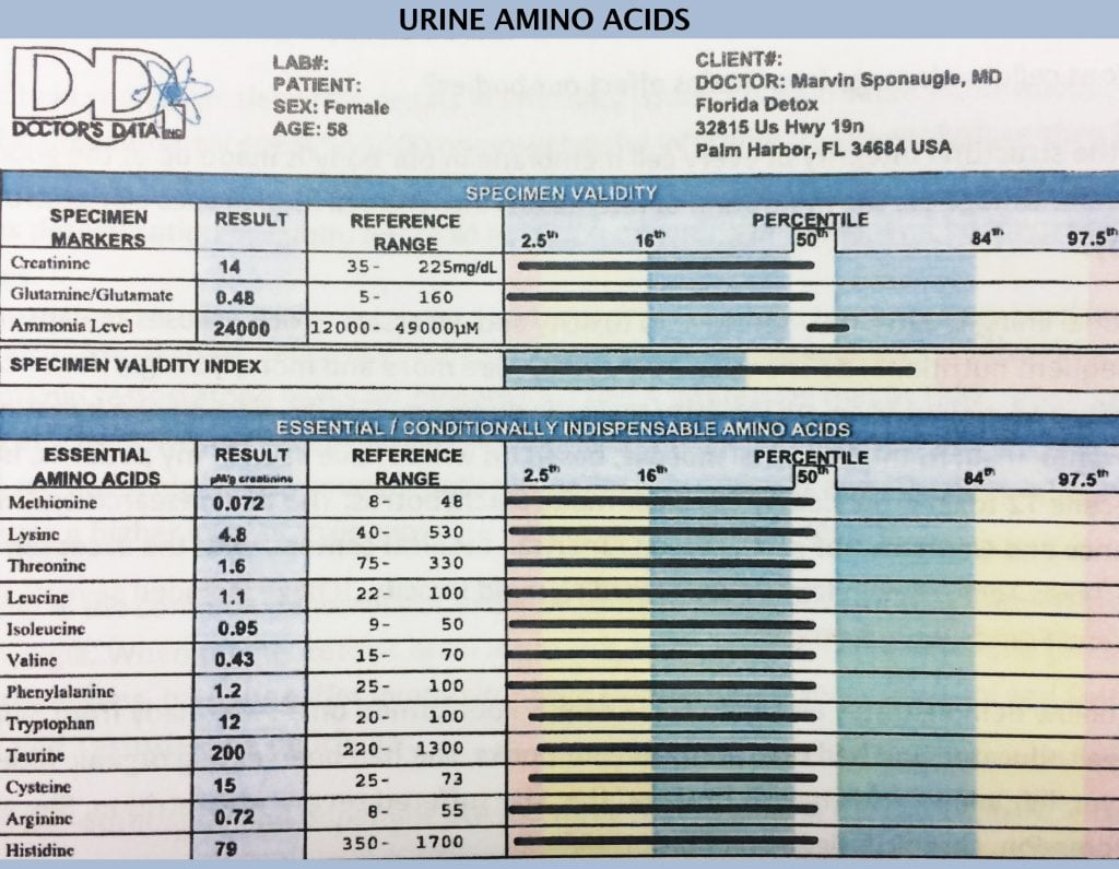 Urine Amino Acids