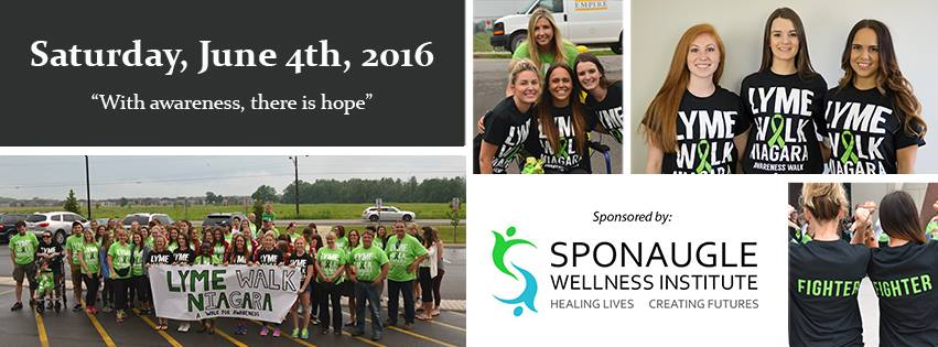2016 Lyme Walk Niagra Collage