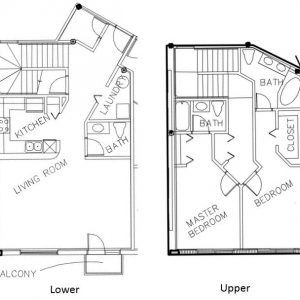 Condo Floor Plan C - Sponaugle Wellness Institute