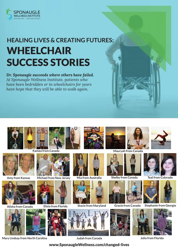 Dr Sponaugle's Wheelchair Success Stories for Chronic Lyme Disease Patients