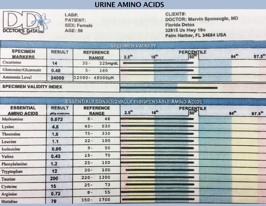 Urine Amino Acids
