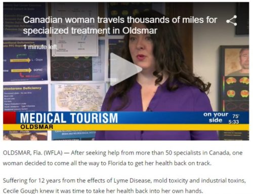 Canadian Women Travels To Florida To Treat Lyme