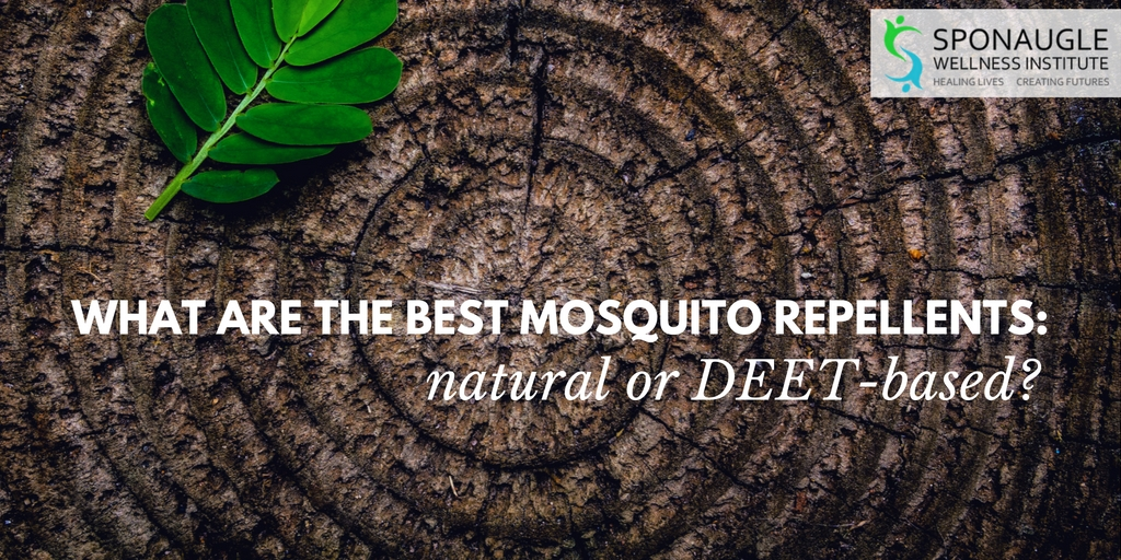 what are the best mosquito repellents: natural or deet-based?
